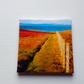 Ceramic Decorative Tile Summer Landscape
