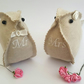 Little Love Bird couple, Mr and Mrs fabric birds, wedding or anniversary gift