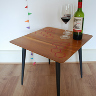Hive - modern wooden side table