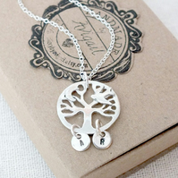 Tree of Life Necklace, Family Tree Necklace 925