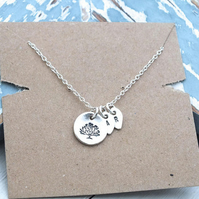 Tree of Life Necklace, Personalised Family Tree Necklace 925