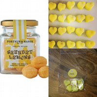 Sherbert Lemon decor, Soy wax melts, highly scented melts, Soy tart melts