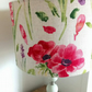 Floral linen lampshade
