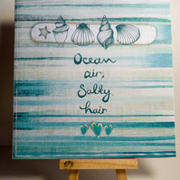 ANY OCCASION CARD, OCEAN