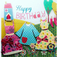 Summer Days Birthday Card