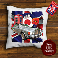 Rolls Royce Silver Spirit Cushion Cover, Choose Your Size