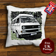 VW T25 Campervan Cushion Cover, Choose Your Size