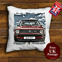 VW GOlf MK1 GTI Cushion Cover, Choose Your Size