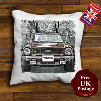 Triumph TR6 Cushion Cover, Choose Your Size