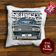 VW Scirocco Cushion Cover, Choose Your Size