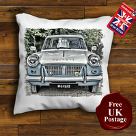 Triumph Herald Cushion Cover, Choose Your Size