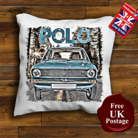 VW MK1 Polo Cushion Cover, Choose Your Size