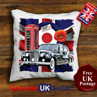Rolls Royce Phantom Cushion Cover, Choose Your Size