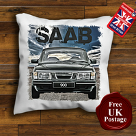 Saab 900 Cushion Cover, Choose Your Size
