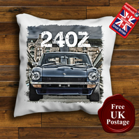 Nissan 240Z Cushion Cover, Choose Your Size