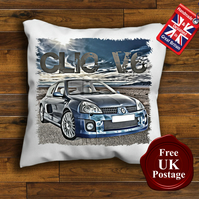 Renault Clio V6 Cushion Cover, Choose Your Size