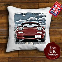 Mazda MX5 Cushion Cover, Choose Your Size