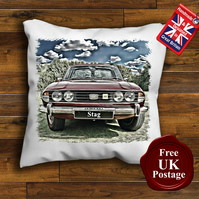 Triumph Stag Cushion Cover, Choose Your Size