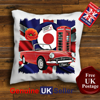 Sunbeam Tiger Cushion Cover, Choose Your Size