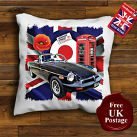 MGB Cushion Cover, Choose Your Size