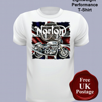 Norton Motorcycle T Shirt, Mens T Shirt, Choose Your Size