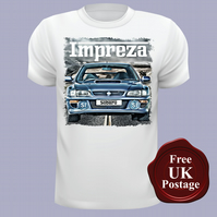 Subaru Impreza T Shirt, Mens T Shirt, Choose Your Size
