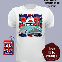 Austin A40 Somerset T Shirt, Mens T Shirt, Choose Your Size