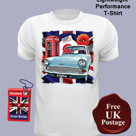 Ford Anglia 105e T Shirt, Mens T Shirt, Harry Potter Car, Choose Your Size