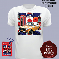 Austin 1300 GT T Shirt, Mens T Shirt, Choose Your Size