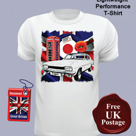 Ford Capri MK1 T Shirt, Mens T Shirt, Choose Your Size