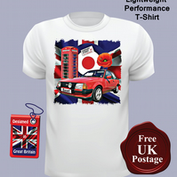 Ford Escort MK3 XR3I T Shirt, Mens T Shirt, Choose Your Size