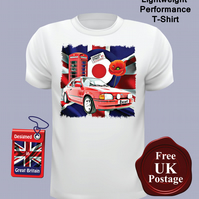 Ford Escort MK4 XR3I T Shirt, Mens T Shirt, Choose Your Size