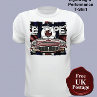 E Type Jaguar T Shirt, Mens T Shirt, Choose Your Size