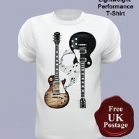 Gibson Les Paul T Shirt, Mens T Shirt, Choose Your Size
