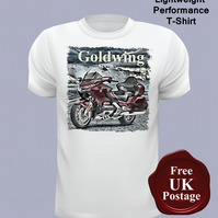 Honda Goldwing T Shirt, Mens T Shirt, Choose Your Size