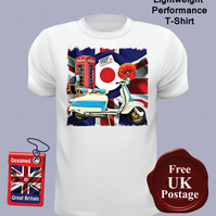 Lambretta Scooter T Shirt, Mens T Shirt, Choose Your Size