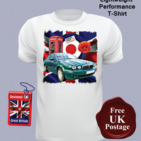Jaguar X Type T Shirt, Mens T Shirt, Choose Your Size