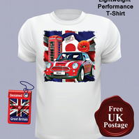 New Mini Cooper T Shirt, Mens T Shirt, Choose Your Size