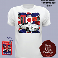 MK2 Triumph Spitfire T Shirt, Mens T Shirt, Choose Your Size