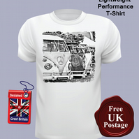 VW Campervan T Shirt, Mens T Shirt, Choose Your Size