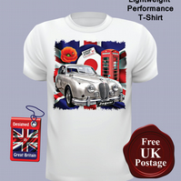 Jaguar MK2 T Shirt, Mens T Shirt, Choose Your Size