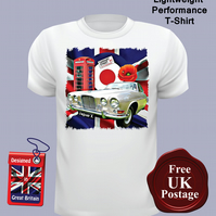 Jaguar MK10 T Shirt, Mens T Shirt, Choose Your Size