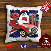 Vauxhall Nova Cushion Cover, Choose Your Size