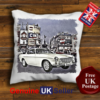 Volvo P1800 Cushion Cover, The Saint Car Choose Your Size