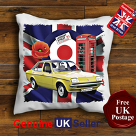 Vauxhall Chevette Cushion Cover, Choose Your Size