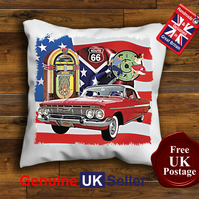1964 Chevrolet Convertible Cushion Cover, Choose Your Size