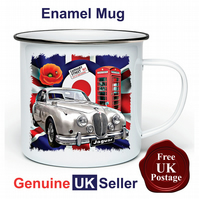Unofficial Jaguar S Type Mug, Camping Mug, Hiking Mug, Fishing Mug, Outdoor Mug,