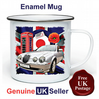Unofficial New Jaguar S Type Mug, Camping Mug, Fishing Mug, Outdoor Mug,
