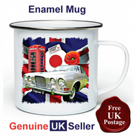 Unofficial Jaguar X MK10 Mug, Camping Mug, Hiking Mug, Fishing Mug, Outdoor Mug,