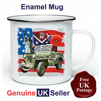 Jeep Willy Mug, Camping Mug, Hiking Mug, Fishing Mug, Outdoor Mug, Jeep Willy